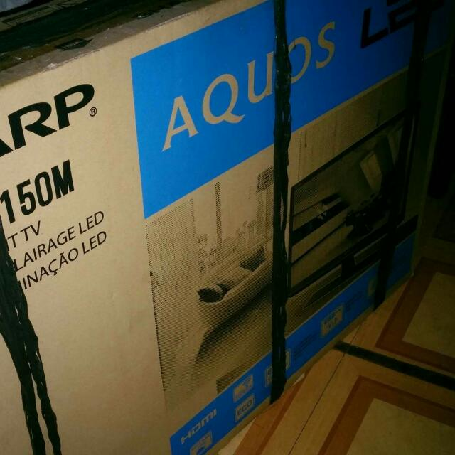"Sharp LED TV 32"" Aquos (Brand NEW) Repriced"