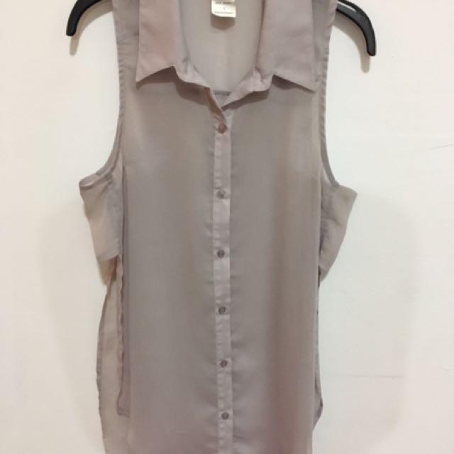 Sheer Lilac blouse