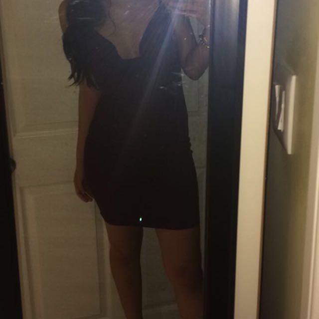 sirens burgundy dress