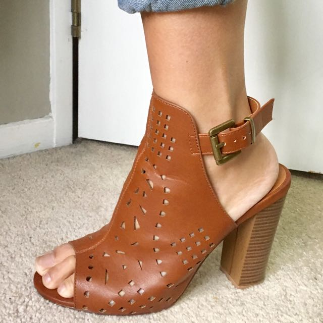 Size 10 Tan Truffle Collection Shoes