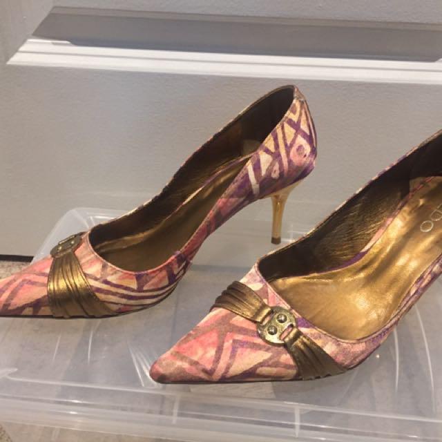 Stilettos Gold & Pink