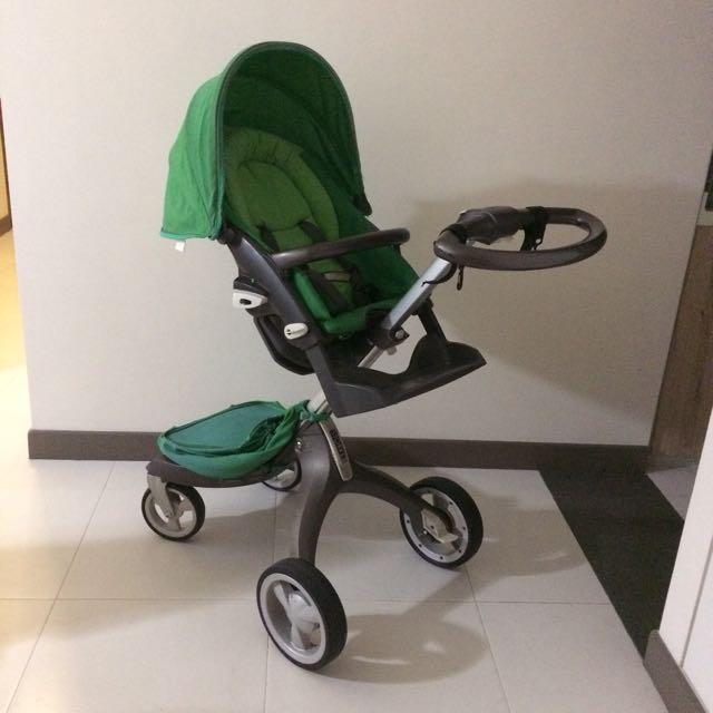 Stokke Xplory Green Stroller