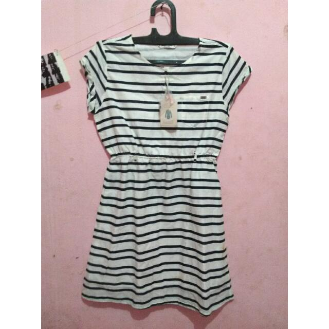 Stripe Dress By Greenlight