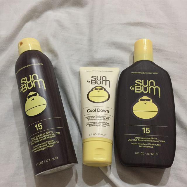 Sun Bum Sun Protection Set