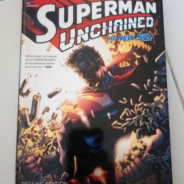 Superman Unchained Hardbound