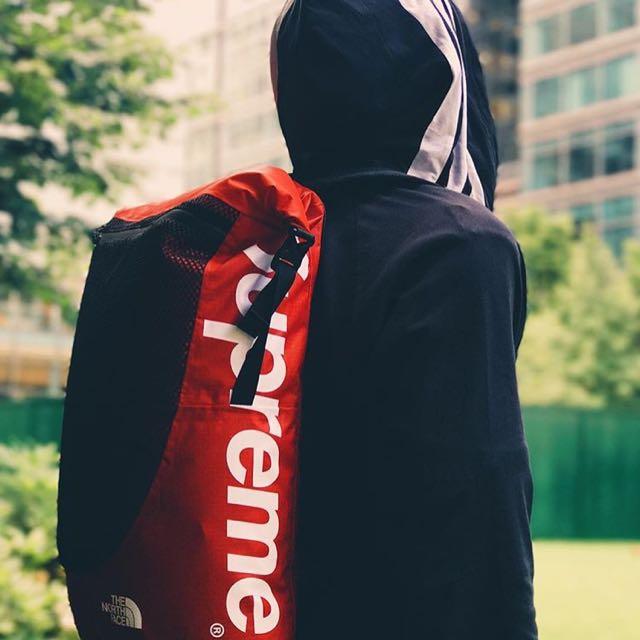32be2614c Latest! Supreme x Northface SS17 Waterproof Backpack (Black), Men's ...