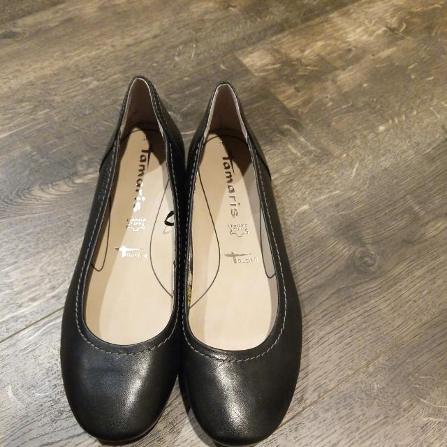 Tamaris Flats Shoes # Leather Cuir