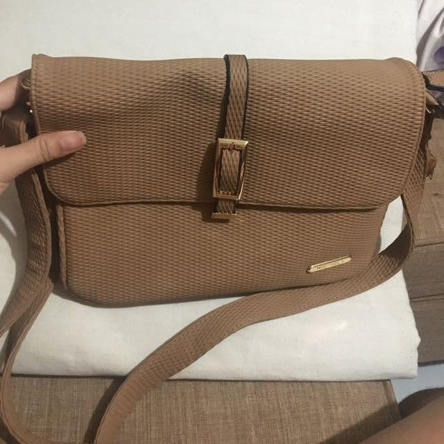Tan Michaela Sling Bag