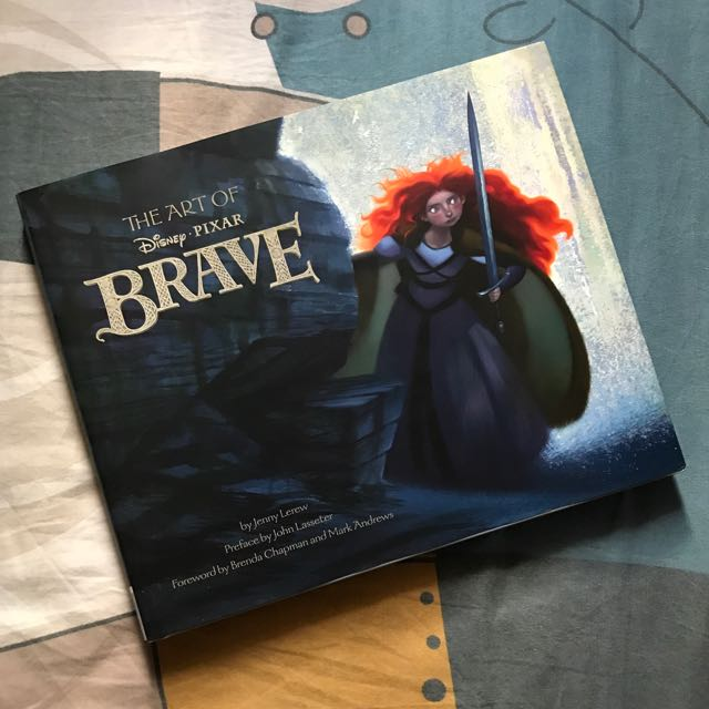 The Art Of Brave Artbook Books Stationery Fiction On Carousell