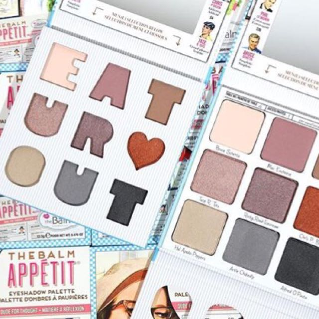 the balm appetit eyeshadow palette