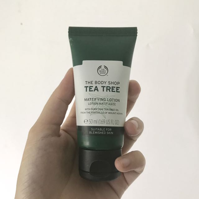 The Body Shop- Teatree Day Cream