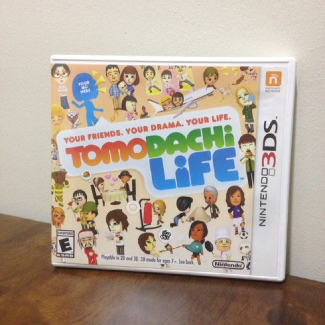 *Markdown SALE* Tomodachi Life 3Ds