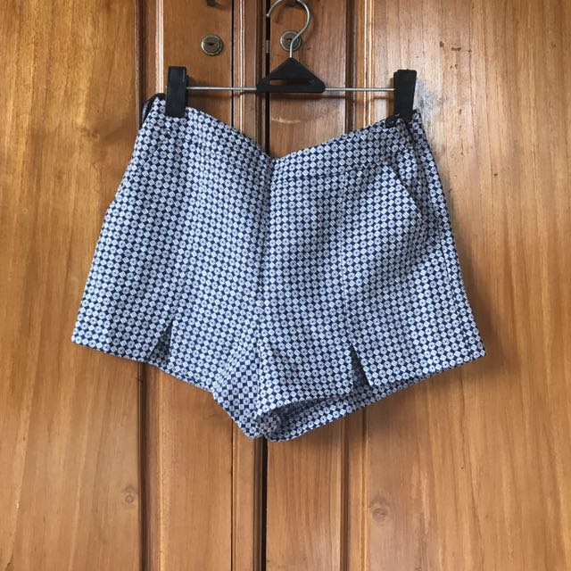 Topshop Pattern Hotpants