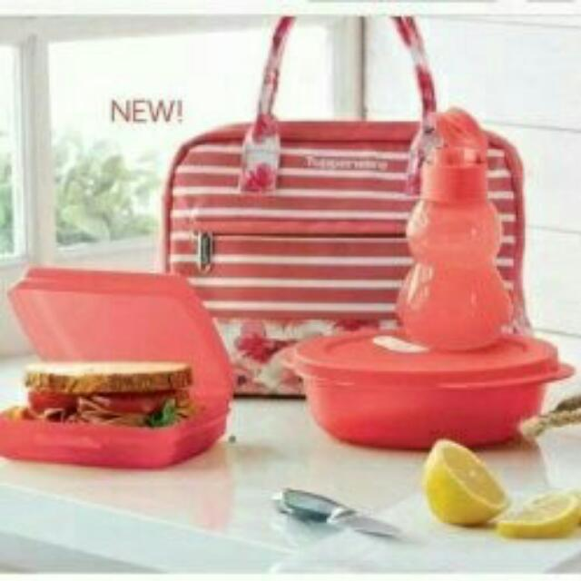 Tupperware Sweet & Sassy Lunch Set Limited Edition