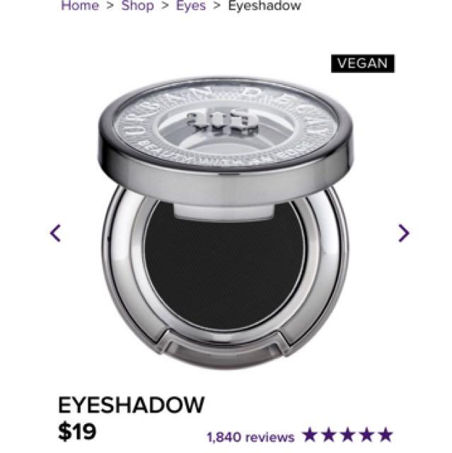 Urban Decay Eyeshadow Blackout