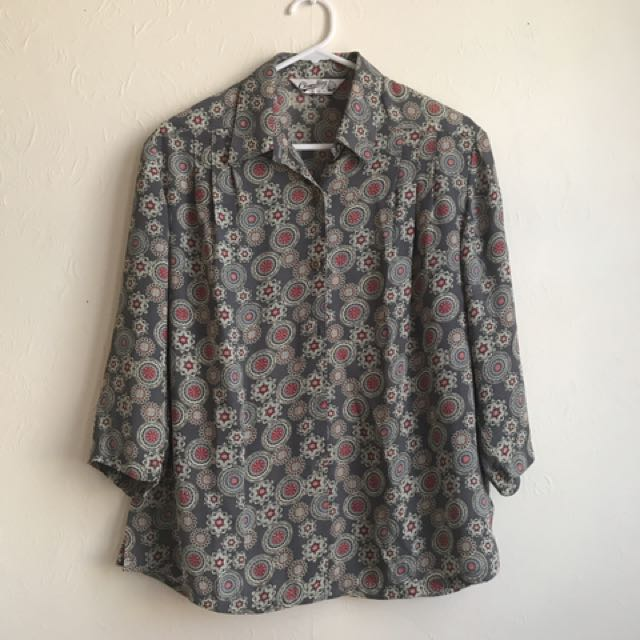 VINTAGE Women's Blouse