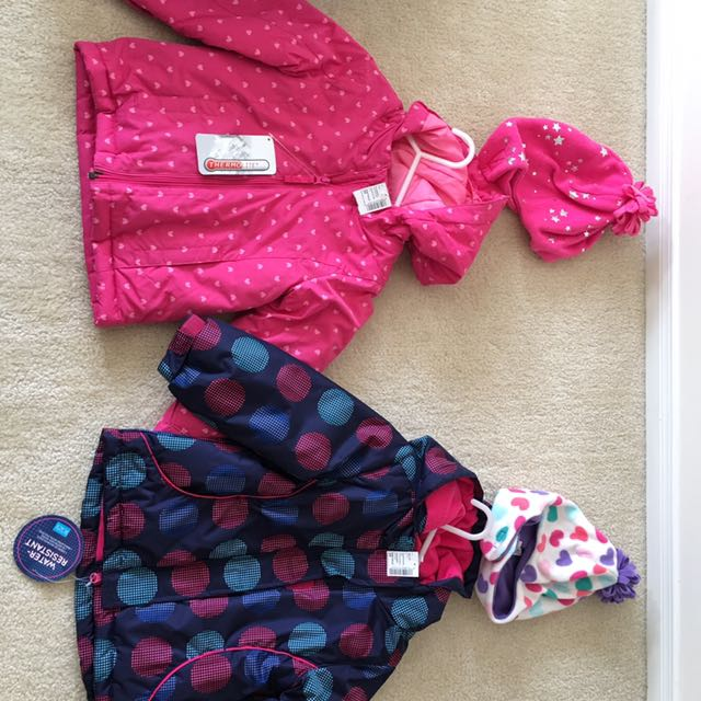 Winter Coats size 3T Girls