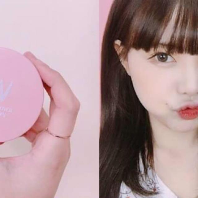 韓國代購專區🏵【W.lab】新品粉色氣墊    SPF50/PA+++