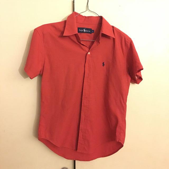 Women's Red Ralph Lauren Polo