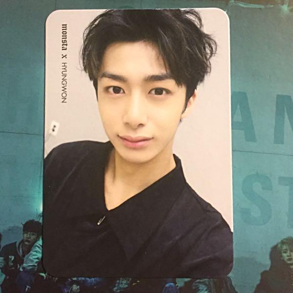 WTS/WTT Monsta X Hyungwon Photocard
