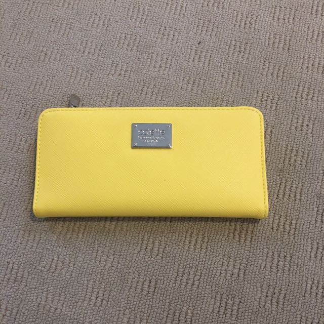 Yellow Collette Wallet
