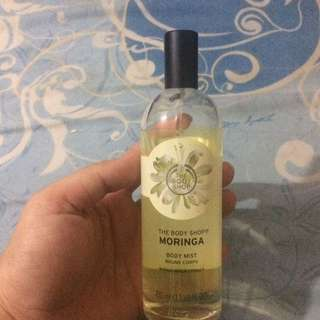Body Mist Moringa Body Shop