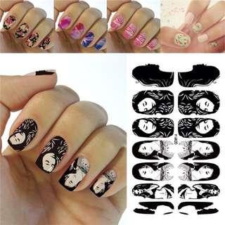 Sticker Nail Art