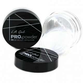 LA Girl PRO Powder HD Setting Powder 100% Original by LA Girl USA