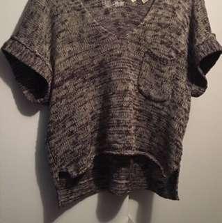 Gray roxy Shirt
