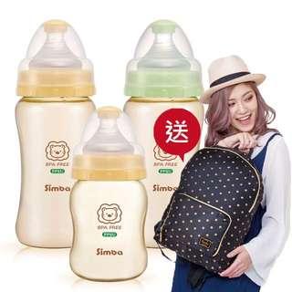小獅王辛巴 PPSU寬口奶瓶270ml