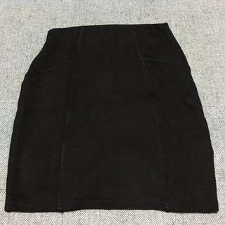 Pull & Bear Skirt Black