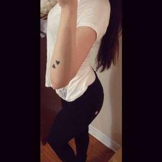FREDDY WRUP Black Pants