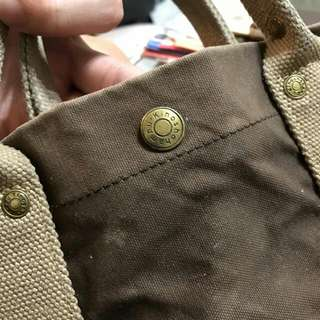 Kinoshohampu 包包 帆布包 (需要自己送洗)