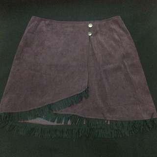 Skirt Boho/bohemian Bludru