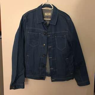 ZARA Men Denim Couture Jacket
