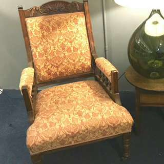 Antique Chair In Mahangony Wood