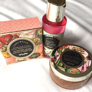 NEW Casa Belle Body Care Set