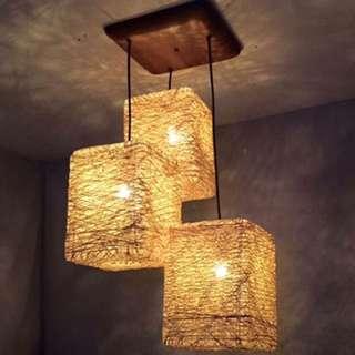 Abaca Pendant Drop Light Chandelier