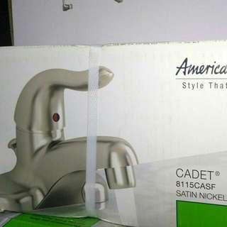 American Standard Nickel Faucet