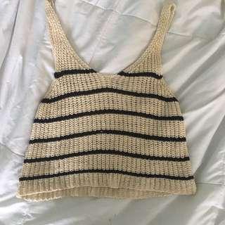 PRICE DROP❗️Garage Crochet Tank Top