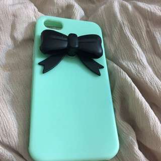 Turquoise And Black IPHONE 5c Phone's Case