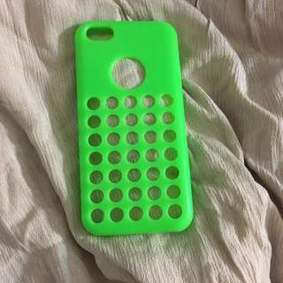 Green Iphone 5c Case