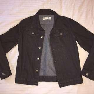 Black Denim Jacket Size 10