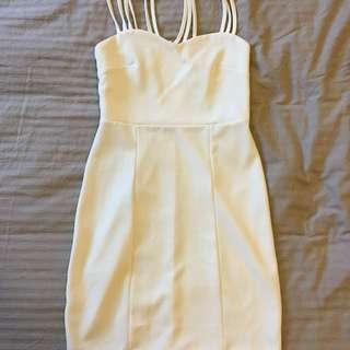White Dress Size M/12