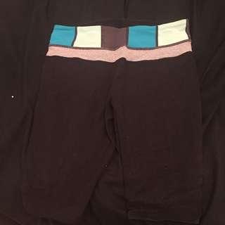 Black Lululemon Biker Shorts