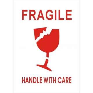 Fragile Sticker Labels (2 Sheets)
