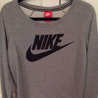 Nike Sweater With Logo On Front