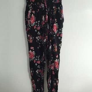 Floral Loose Pants