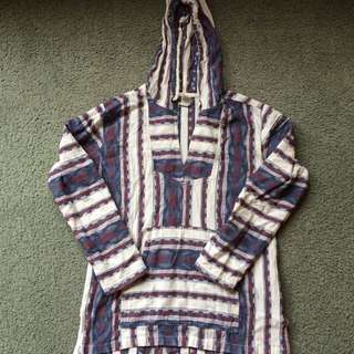 Hippy Hooded Top