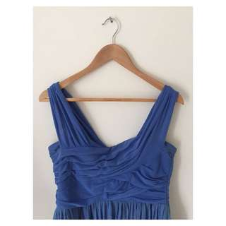 SASS | Blue Cocktail Dress | Size 12